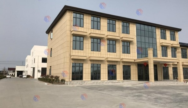 办公楼及后方生产厂区