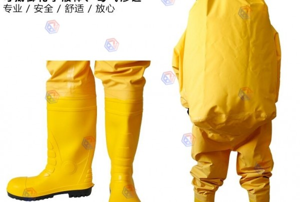 全封闭防化服 黄色