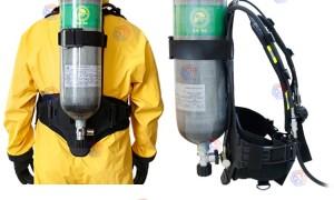 自给式空气呼吸器怎么正确佩戴?
